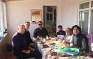 Gazi Ümit Sayacılar Arkadaşımızın Edirne'deki Evine Ziyaret